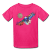 Image of My America Kids' T-Shirt - fuchsia