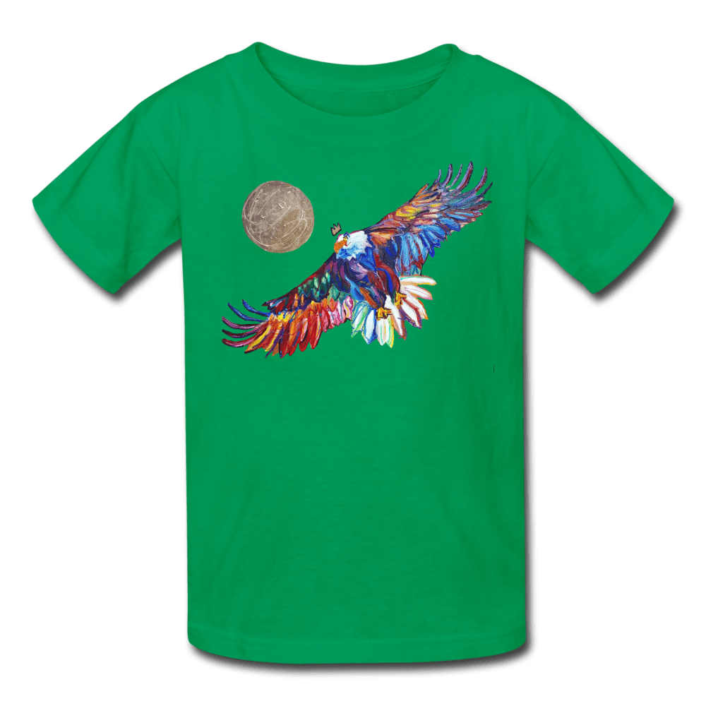 My America Kids' T-Shirt - kelly green