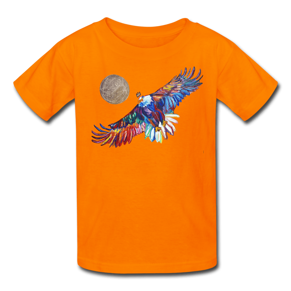 My America Kids' T-Shirt - orange