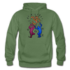 Image of Gildan Heavy Blend Adult Hoodie - military green