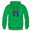 Image of Gildan Heavy Blend Adult Hoodie - kelly green