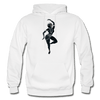 Image of Odissi Dance Unisex Hoodie - white
