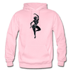 Image of Odissi Dance Unisex Hoodie - light pink