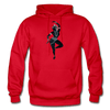 Image of Odissi Dance Unisex Hoodie - red