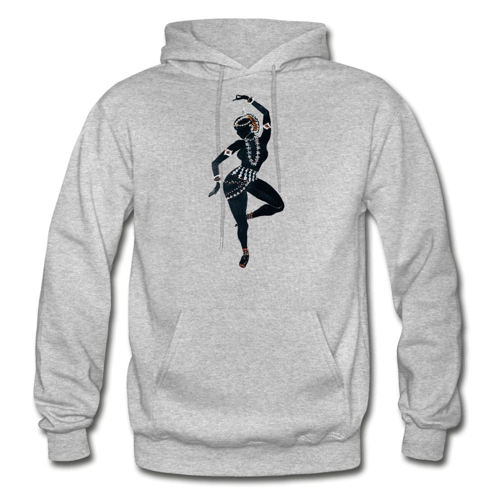 Odissi Dance Unisex Hoodie - heather gray