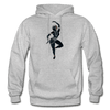 Image of Odissi Dance Unisex Hoodie - heather gray