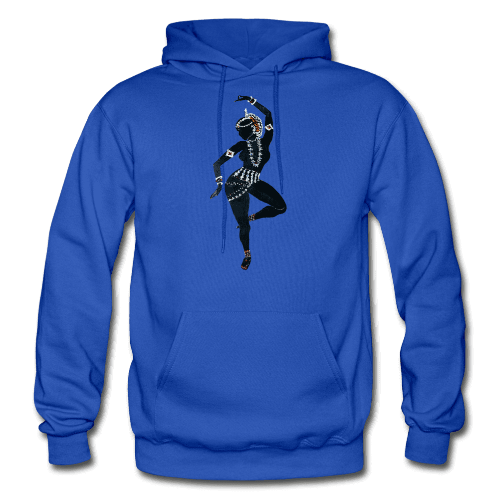 Odissi Dance Unisex Hoodie - royal blue
