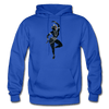 Image of Odissi Dance Unisex Hoodie - royal blue