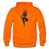 Image of Odissi Dance Unisex Hoodie - orange