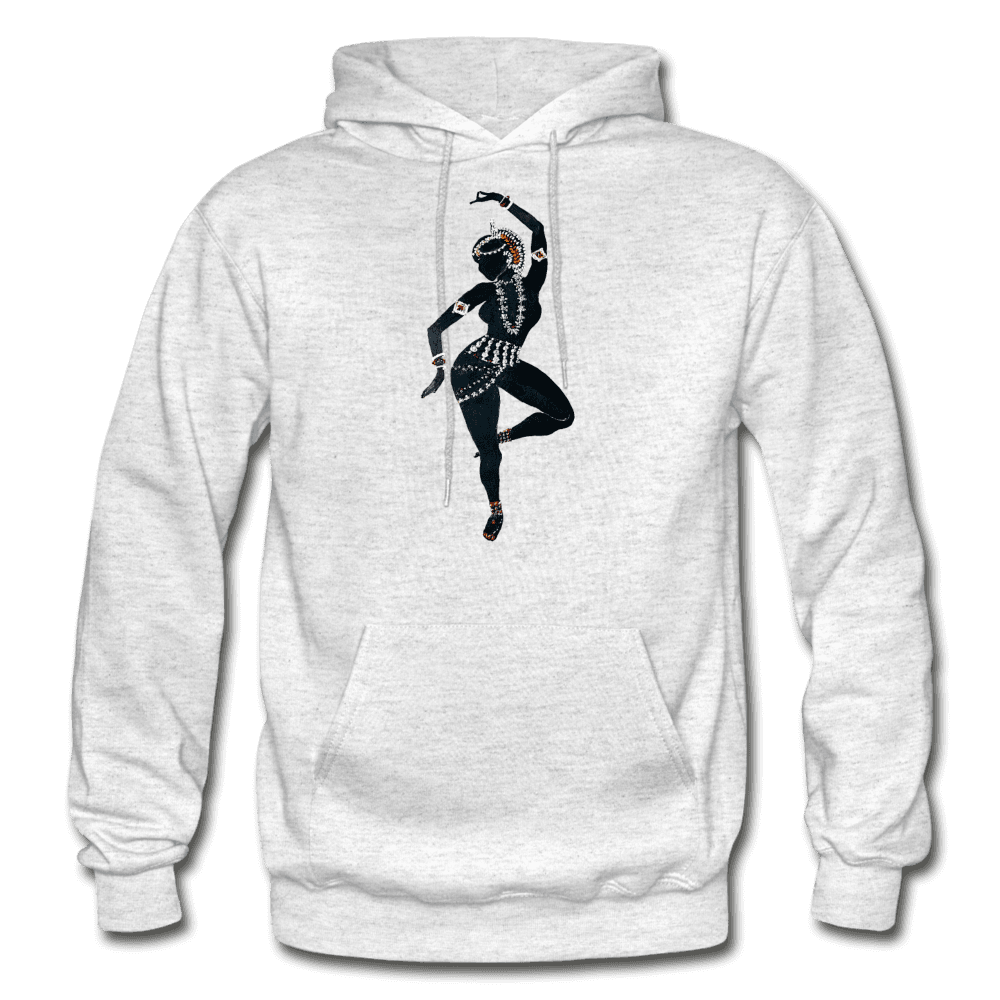 Odissi Dance Unisex Hoodie - light heather gray