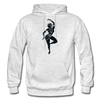 Image of Odissi Dance Unisex Hoodie - light heather gray