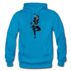Image of Odissi Dance Unisex Hoodie - turquoise