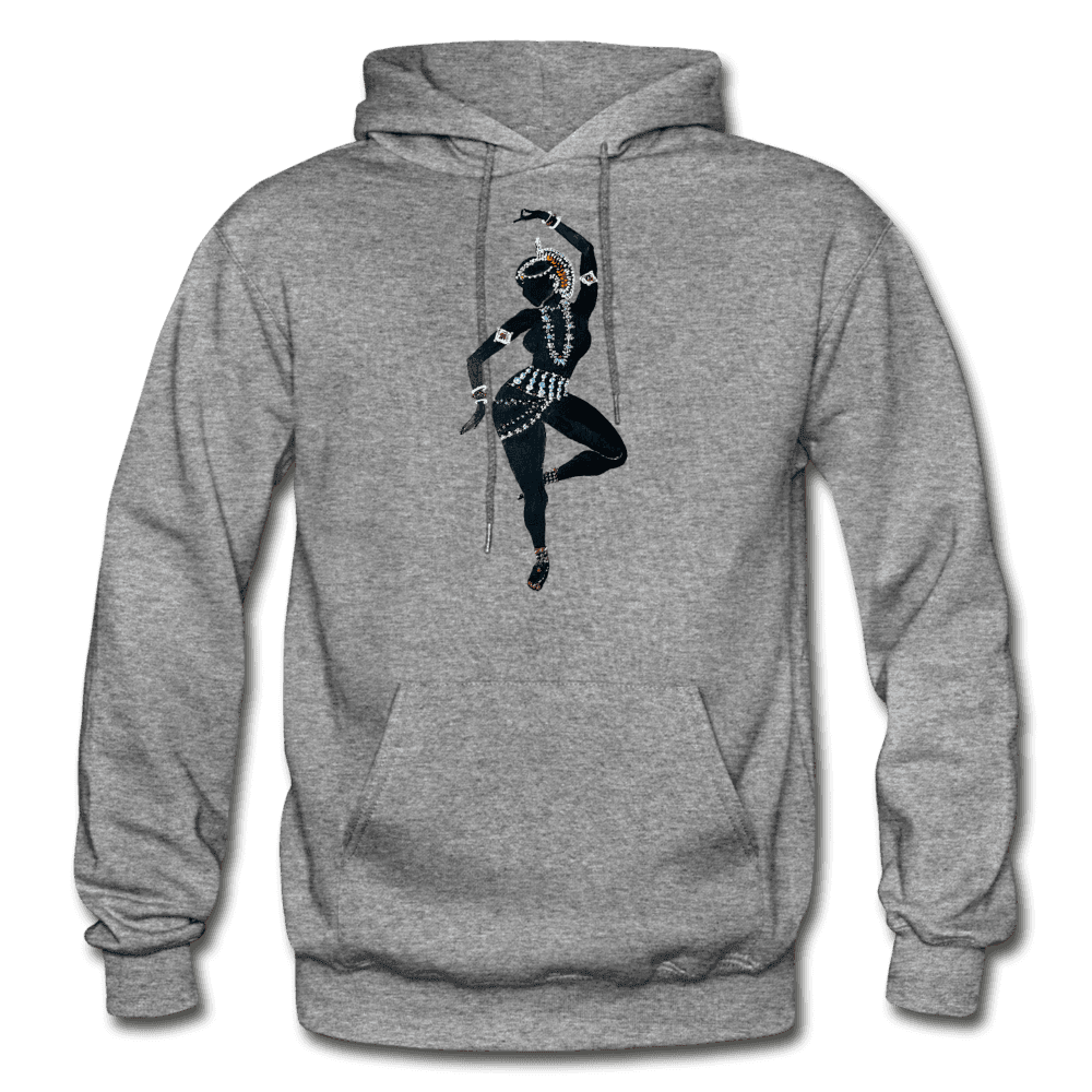 Odissi Dance Unisex Hoodie - graphite heather