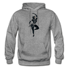 Image of Odissi Dance Unisex Hoodie - graphite heather