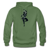 Image of Odissi Dance Unisex Hoodie - military green