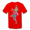 Image of Kids' Moisture Wicking Performance T-Shirt - red