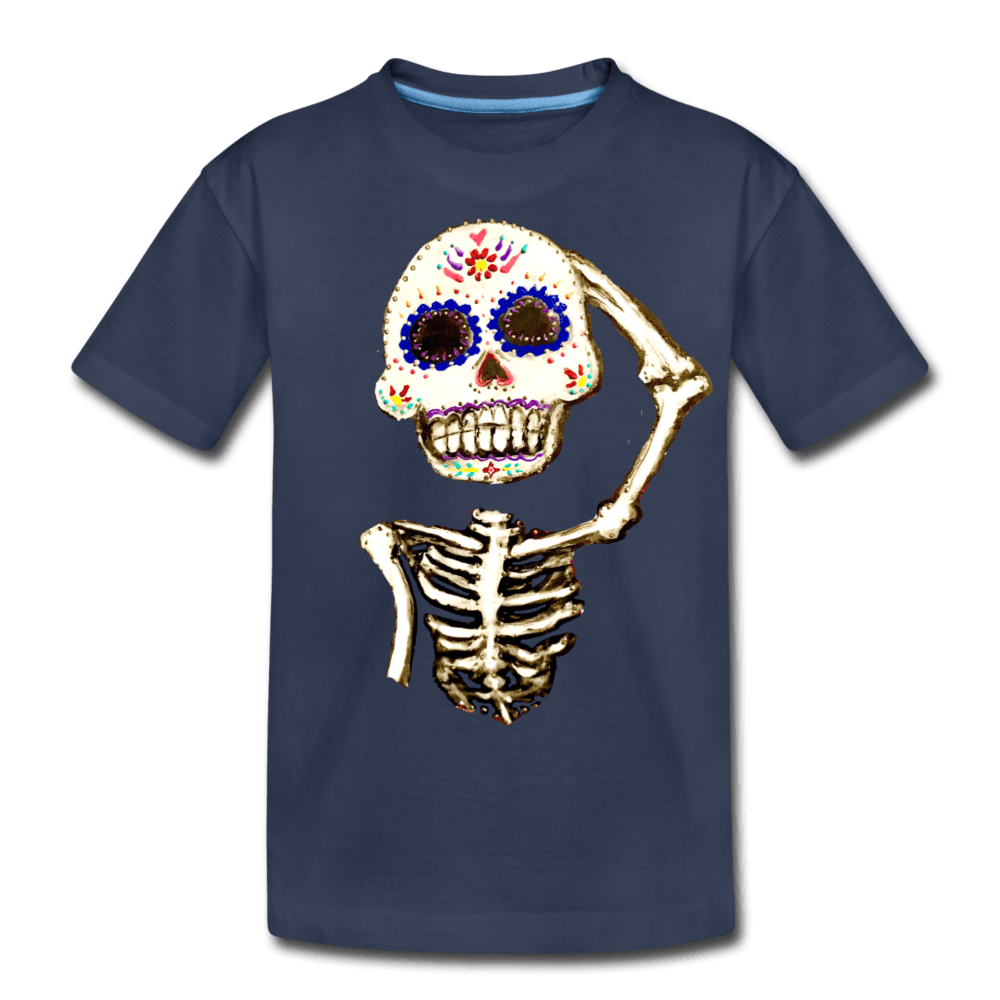 Kids' Premium T-Shirt - navy