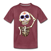 Image of Kids' Premium T-Shirt - heather burgundy