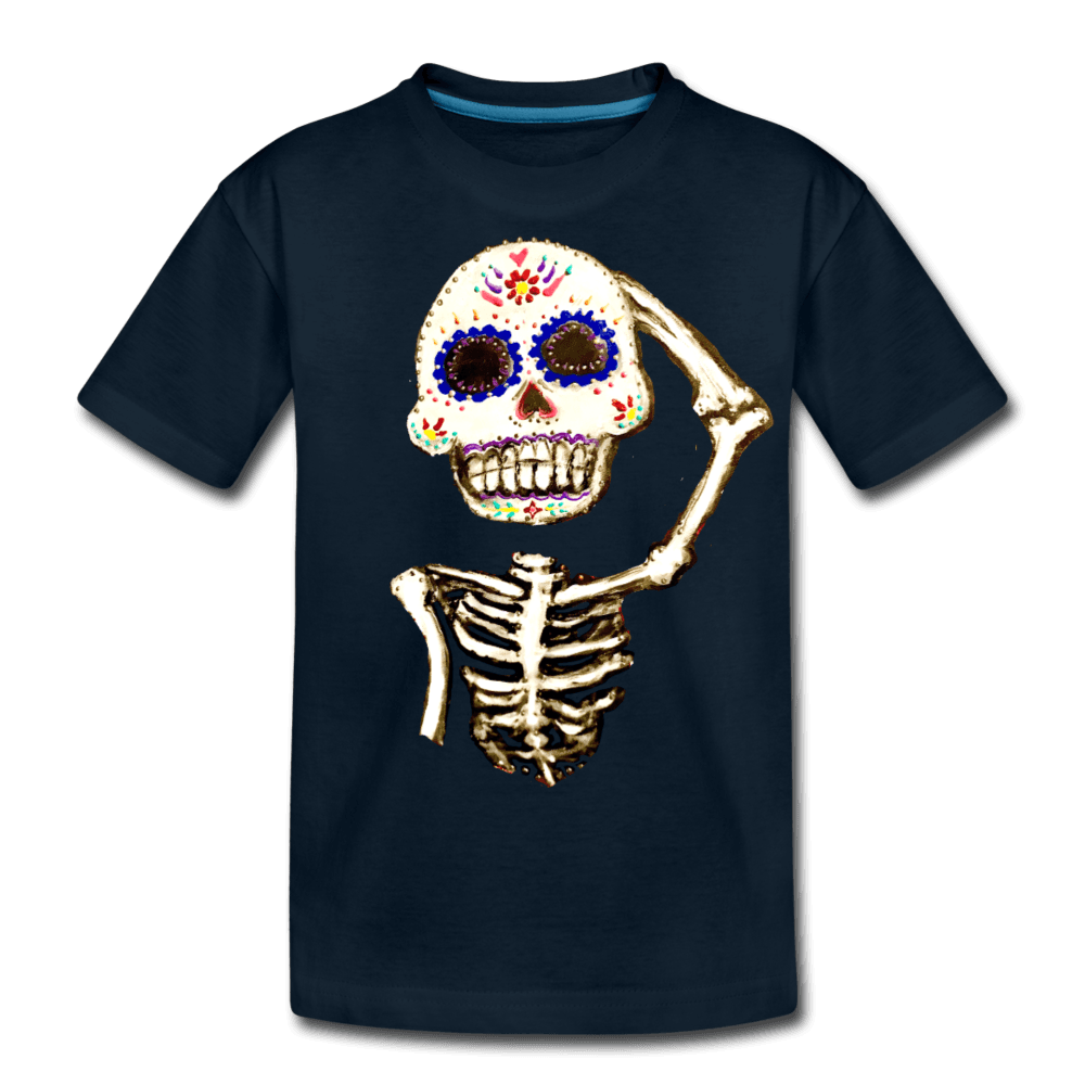 Kids' Premium T-Shirt - deep navy