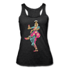 Image of Bharatanatyam Dancer Racerback Tank - heather black