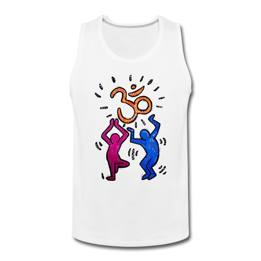 Yogi Pop Art Men's Tank - white