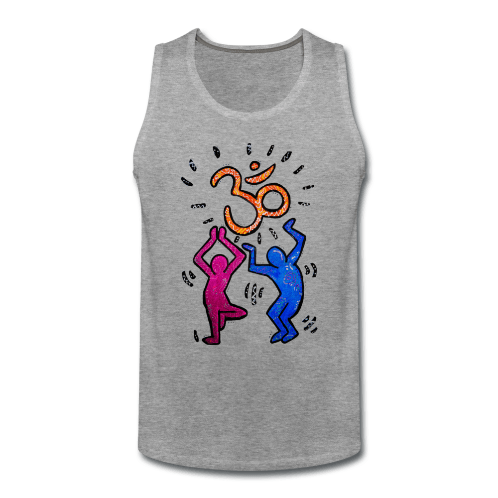 Yogi Pop Art Men's Tank - heather gray