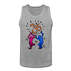 Image of Yogi Pop Art Men's Tank - heather gray