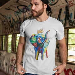 Elephant x Crown Men's T-Shirt