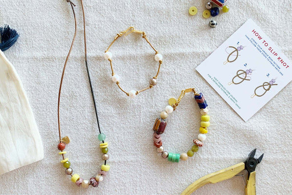 A DIY Jewelry Kit Inspired by Summer Camp