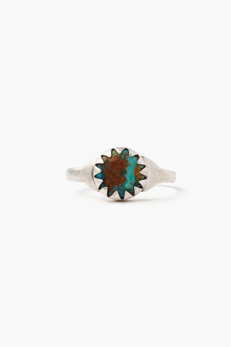Turquoise Beam Ring