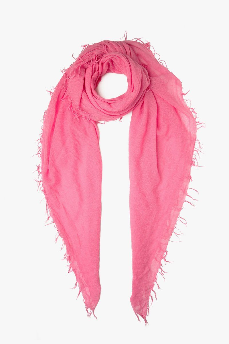Chateau Rose Cashmere and Silk Scarf
