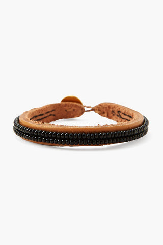 Chan Luu x Ethical Fashion Initiative Black Beaded Bracelet