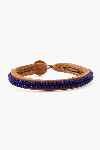Chan Luu x Ethical Fashion Initiative Indigo Beaded Bracelet