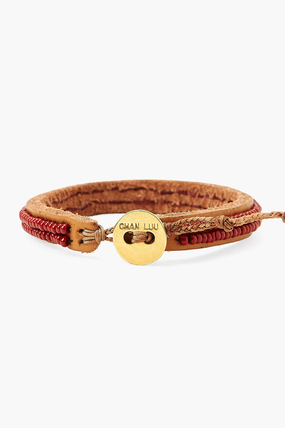 Chan Luu x Ethical Fashion Initiative Merlot Beaded Bracelet