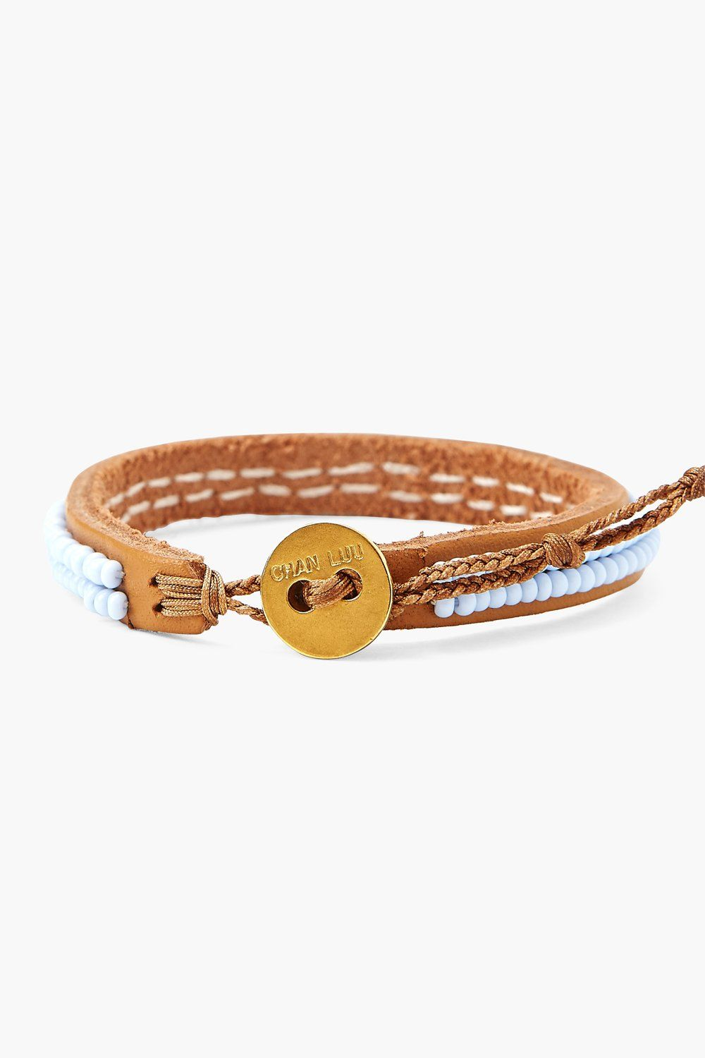 Chan Luu x Ethical Fashion Initiative Serenity Beaded Bracelet