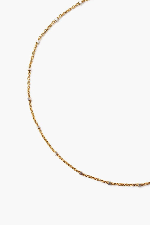 Yellow Gold Delicate Chain Anklet