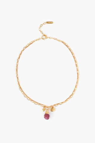 Red Pearl Paloma Necklace