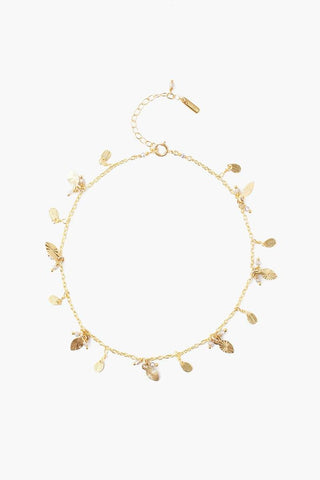 Deep Lake Cowry Shell Anklet