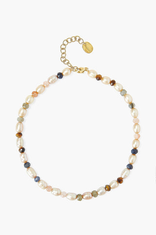 Champagne Pearl Mix Anklet