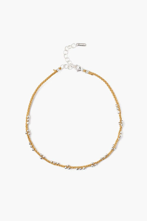 Honey Beaded Anklet