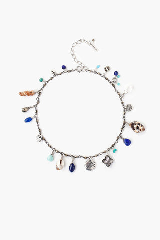 Blue Mix Sea Charm Bracelet