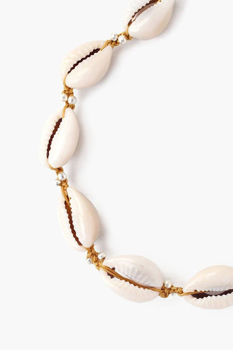 Honey Cowry Shell Anklet