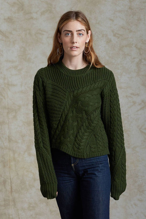 Forest Green Juliette Sweater