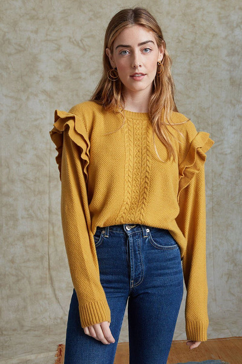 Harvest Gold Elizabeth Sweater