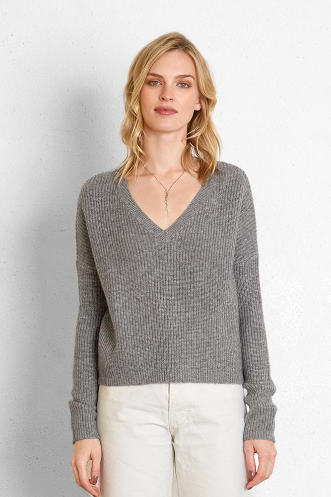 Heather Grey Nicolas Sweater