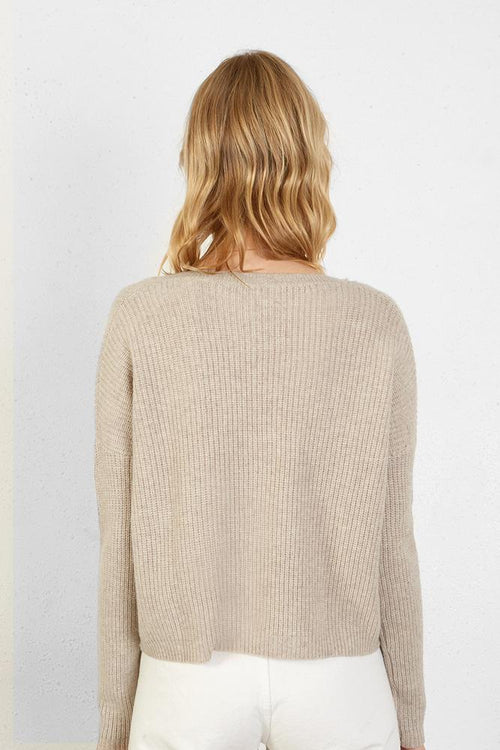 Oatmeal Nicolas Sweater