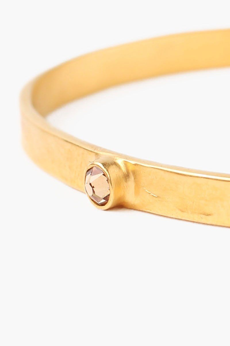November Light Colorado Topaz Birthstone Cuff