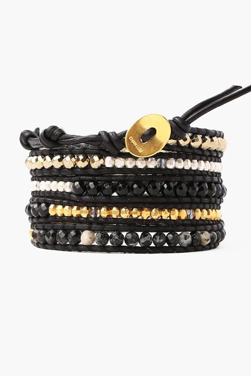 Onyx Mix Five Wrap Bracelet (Pre-Order)