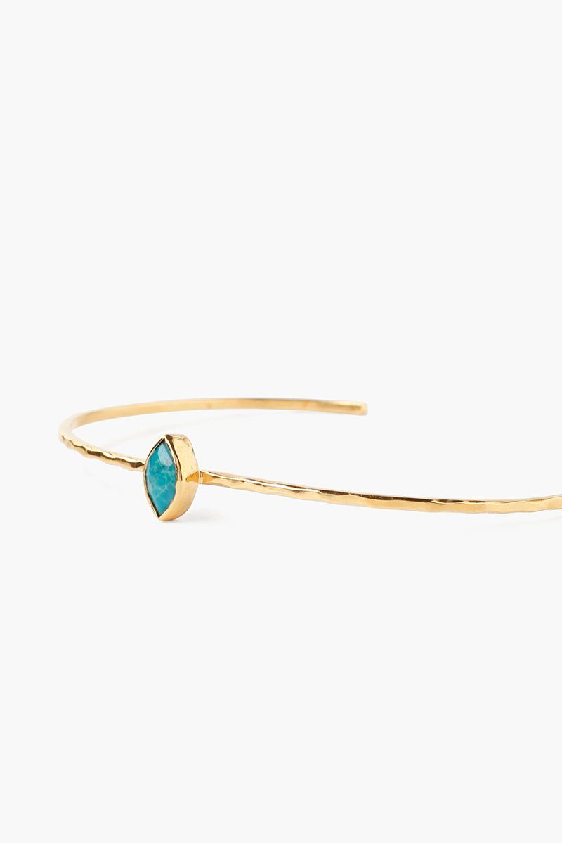 Turquoise Evil Eye Cuff