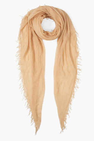 Apricot Ice Cashmere Silk Scarf
